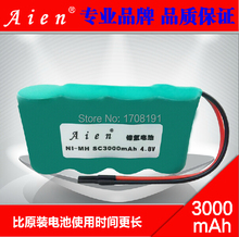With Plug SC3000 NIMH Battery Pack 4 8V 3000mAh SC NI MH Rechargeable Battery For Sweep