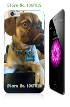 Mobile Phone Case Retail 1pc Earl dog Protective White Hard Case Cover For Iphone 6 6th Free Shipping