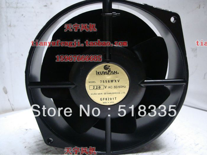 Free Shipping! W2S130-AA03-01 replacement fan 7556MXV Japanese original motor 220v 170 * 150 * 55(China (Mainland))