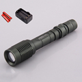 CREE XML T6 long range led flashlight Laterna 2000lm Portable Zoom home flash lamp torch light