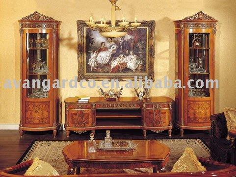 European Royal classical living room TV stand sets(China (Mainland))