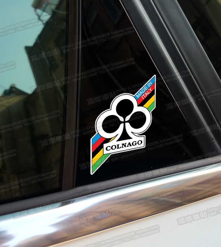 Refires - motorcycle car stickers reflective car stickers refires colnago(China (Mainland))