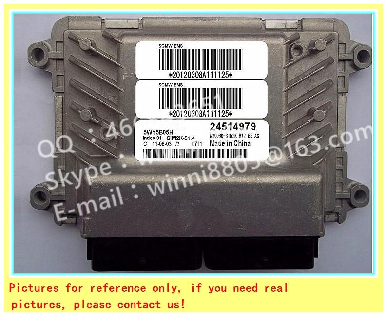 For Wuling car engine computer board/ECU/ Electronic Control Unit/Car PC/ 5WY5B05H 24514979 /Trip computer(China (Mainland))