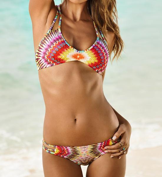 2015 new summer style scrunch butt bikini bandage brazilian micro bikini new print bathing suit maillot de bain women biquiniОдежда и ак�е��уары<br><br><br>Aliexpress