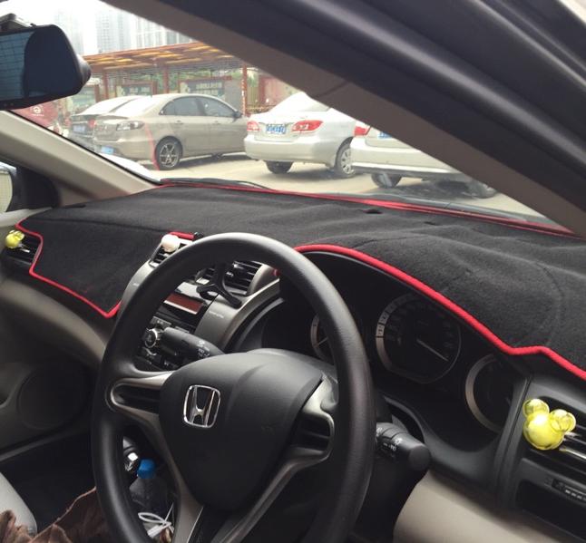 dashmats car-styling accessories dashboard cover honda city 2008 2009 2011 2010 2012 2013 2015 2014 RHD - car club store