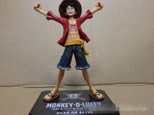 Buy Action Figure ONE PIECE onepiece straw hat Monkey D Luffy 16cm PVC Doll Toys gifts Cartoon Collectible Model Anime for $10.72 in AliExpress store