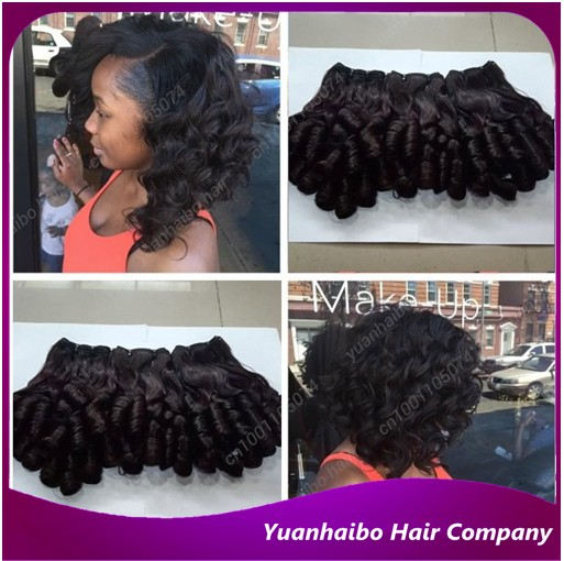 Top quality 1b# 3pcs/lot funmi hair virgin peruvian hair bouncy curl aunty funmi hair weave free shipping<br><br>Aliexpress