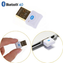 Mini USB Bluetooth V4.0 modo Dual Wireless Dongle chapado en oro del conector CSR 4.0 adaptador Audio Transmitter para Win7 / 8 / XP 25(China (Mainland))