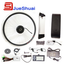 36V 250W/350W/500W Kettle Battery Ebike Kits Electric Bike Conversion Kit With LED Display LCD Optional(China (Mainland))