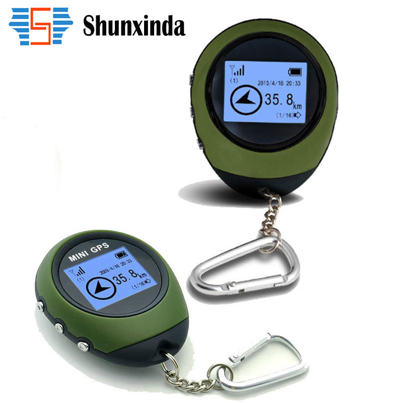 Mini GPS Receiver Navigation Handheld Location Finder USB Rechargeable with Electronic Compass for Outdoor Practical Travel(China (Mainland))