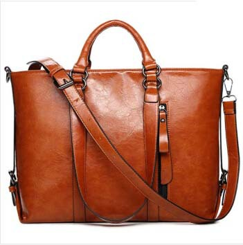 2015 Europe new style women handbag bag ladies handbag oil wax single diagonal shoulder bag trend bags(China (Mainland))