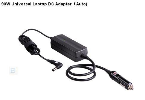 and whoslae 90W Universal Laptop DC Adapter, AUTO universal DC Charger 5pcs/Lot