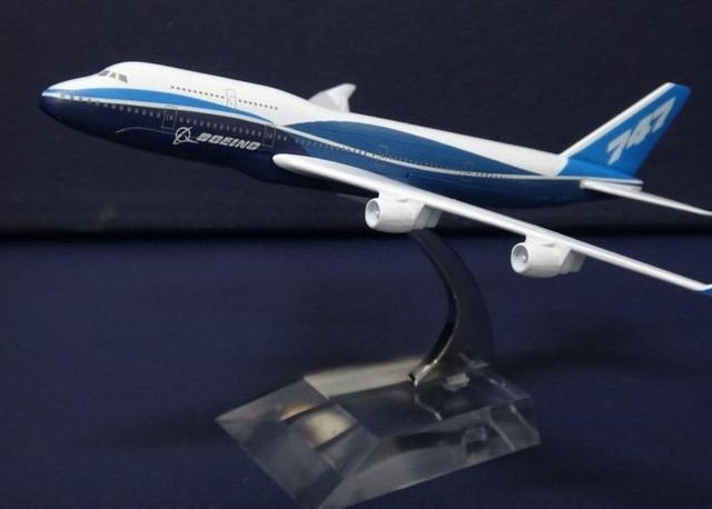 14cm metal models for Boeing 747 - 400  airplane  airplane model Boeing prototype machine