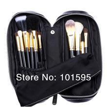 2015 New Professional Makeup Brush 12 Pcs Brush Cosmetic Make Up Foundation Eyeshadow Lip Brush Set