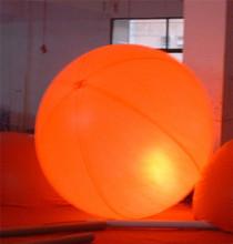 Free Shipping custom advertising inflatable lighted balloon, Led Helium Balloon(China (Mainland))