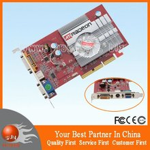 100% New OEM ARedon 9550 256MB S-Video DVI AGP Graphics Card  with tracking number(China (Mainland))