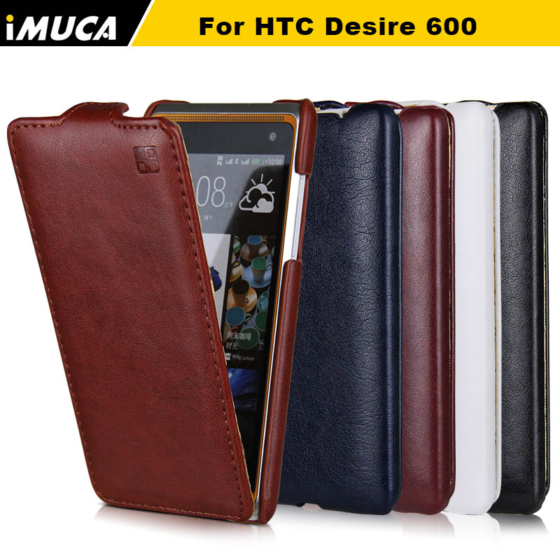 Phone Cases for HTC Desire 600 Cover for HTC 600 mobile phone cases cover flip leather case for htc desire 600 dual sim 606w(China (Mainland))