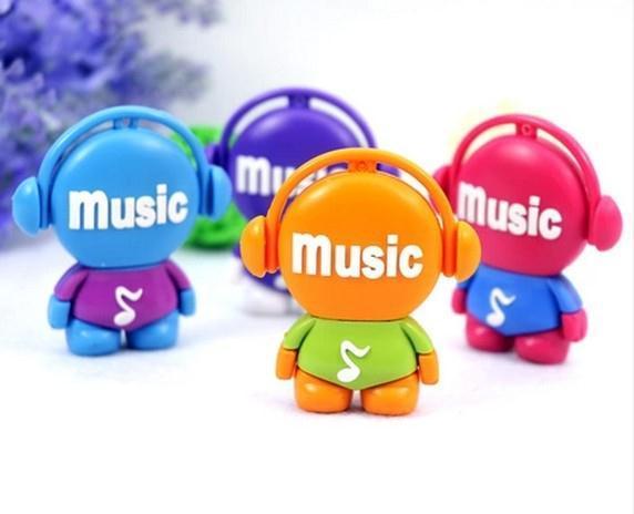 USB Flash Disk cartoon lovely music player USB Flash 2.0 Memory Drive Stick 1GB-64GB S42(China (Mainland))