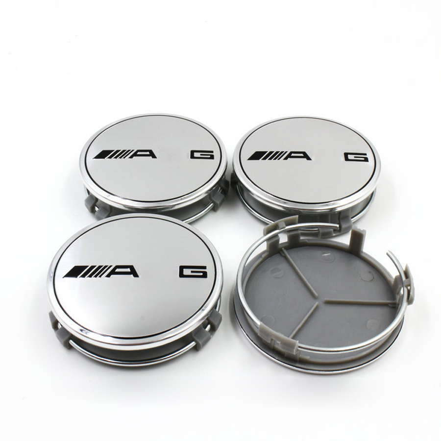 4 unids/lote 75mm Centro de Rueda de Coche Hub Tapa Logo LLANTA Emblema para Mercedes Benz W210 W203 W204 AMG Ces CLS CLK SLK CLASE CLA(China (Mainland))