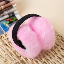 Folding new imitation rabbit fur earmuffs winter warm spot wholesale custom manufacturers ear sets(China (Mainland))