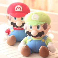 lovely Doll nanoparticle toys mario particles doll red colour about 25cm