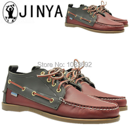 men shoes genuine leather Loafers boat shoe breathable male casual driving Shoes flats Moccasins for men