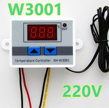 Buy W3001 Digital Temperature Controller 50 ~ 110C adjustable cool heat Thermostat Control Switch Probe 220V 10A 40%off for $4.70 in AliExpress store