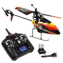 New Gift Original Wltoys V911 4CH 2.4GHz Mini Radio Single Propeller RC Helicopter Gyro RTF with Transmitter