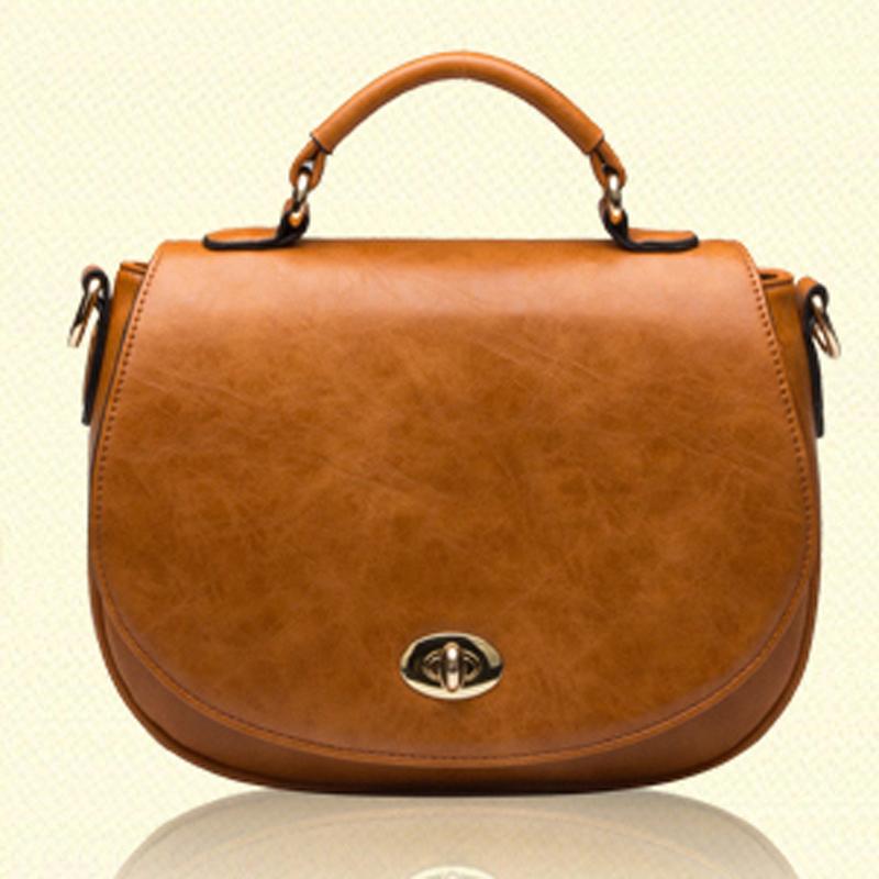 High Quality Designer Genuine Leather Womens Shoulder Bag Casual Women Messenger Bags Small Black bag+4 colors<br><br>Aliexpress
