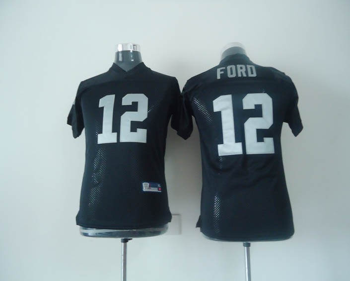 Kids #12 Jacoby Ford Black 2014 Old Style Brand Youth Authentic Football Jerseys 12 Ford Cheap Boys Jersey Free Shipping(China (Mainland))