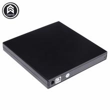 Портативный Тонкий Внешний USB 2.0 DVD-RW/CD-RW Burner Записи IDE Оптический чип Привод CD DVD ROM Combo Писатель Для портативных ПК(China (Mainland))