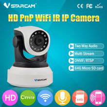 Vstarcam C7824WIP Onvif 2.0 720P IP Camera Wireless Wifi CCTV Camera HD Indoor Pan/Tilt IR CUT Night Vision Support 64G SD Card