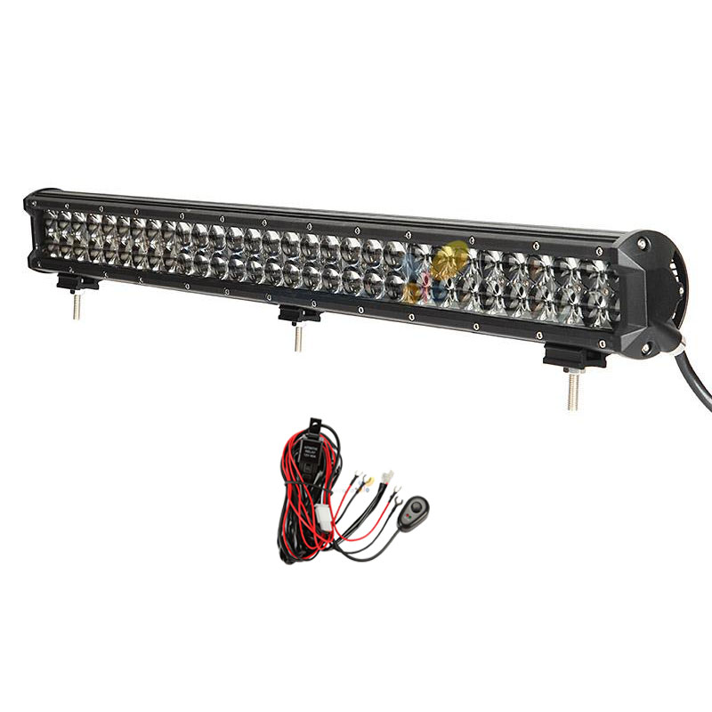 Гаджет  330W 31 Inch LED Light Bar for PHILIPS LED Chips Super Bright Offroad Spot Flood Beam for Jeep Ford 4x4 ATV 4WD Truck 12V 24V None Автомобили и Мотоциклы
