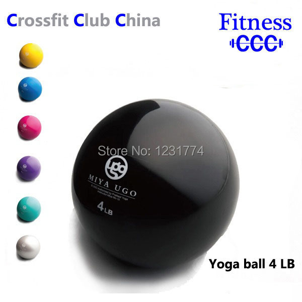 4 LB Sand-Filled Mini Fitness Exercise Medicine Ball Yoga Weight Lift(China (Mainland))
