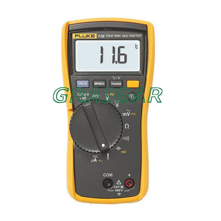 Fluke 116C HVAC Multimeter with Temperature and Microamps F116C<br><br>Aliexpress