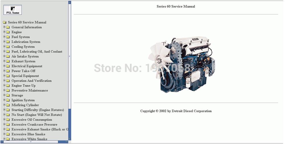 Detroit Diesel Series 60 Service Manual(China (Mainland))