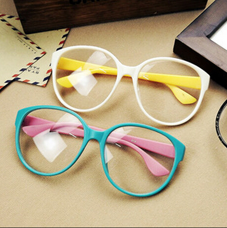 2015 Fashion Eyewear Glasses Clear Lens Glasses for Women Plain Mirror Sunglasses Safty Spectacles Optical Glasses