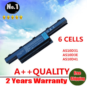 Wholesale new 6CELLS laptop battery For Acer 4741G Replace AS10D31 AS10D3E AS10D41 AS10D51 AS10D61 AS10D71 AS10G3E Free shipping