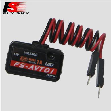 product Original FS Flysky 2.4G FS-AVT01 Voltage LED RC Racing model Rc Spare Parts