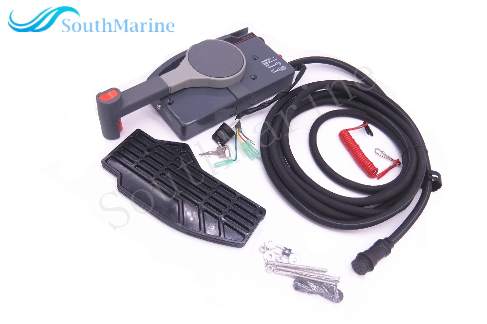 Boat remote control box assy 703 48230 for yamaha outboard for Yamaha 703 remote control assembly
