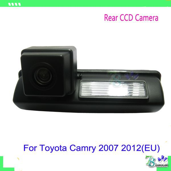 Back reverse rear view camera car reverse parking with night vision waterproof parking camera for Toyota Camry 2007 2012(EU)(China (Mainland))