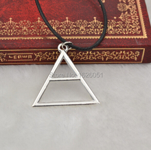 30 Seconds To Mars Triad Necklace Triangle Silver Necklace Pendant collier femme men jewelry collier femme