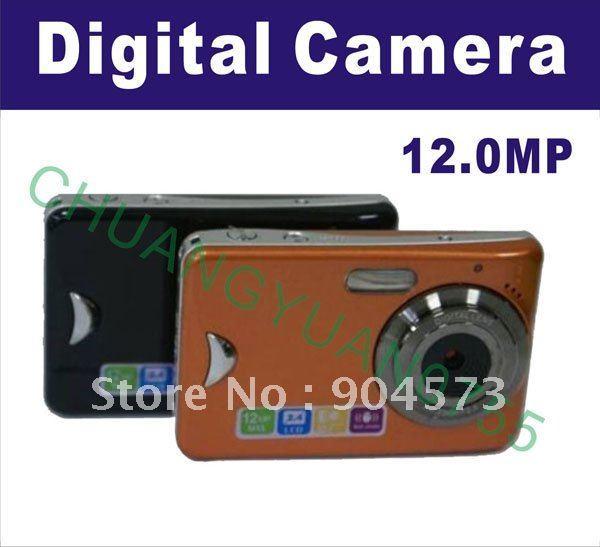 Brand New 12.0MP Anti-Shake 2.4 TFT  Touch Screen Digital Camera