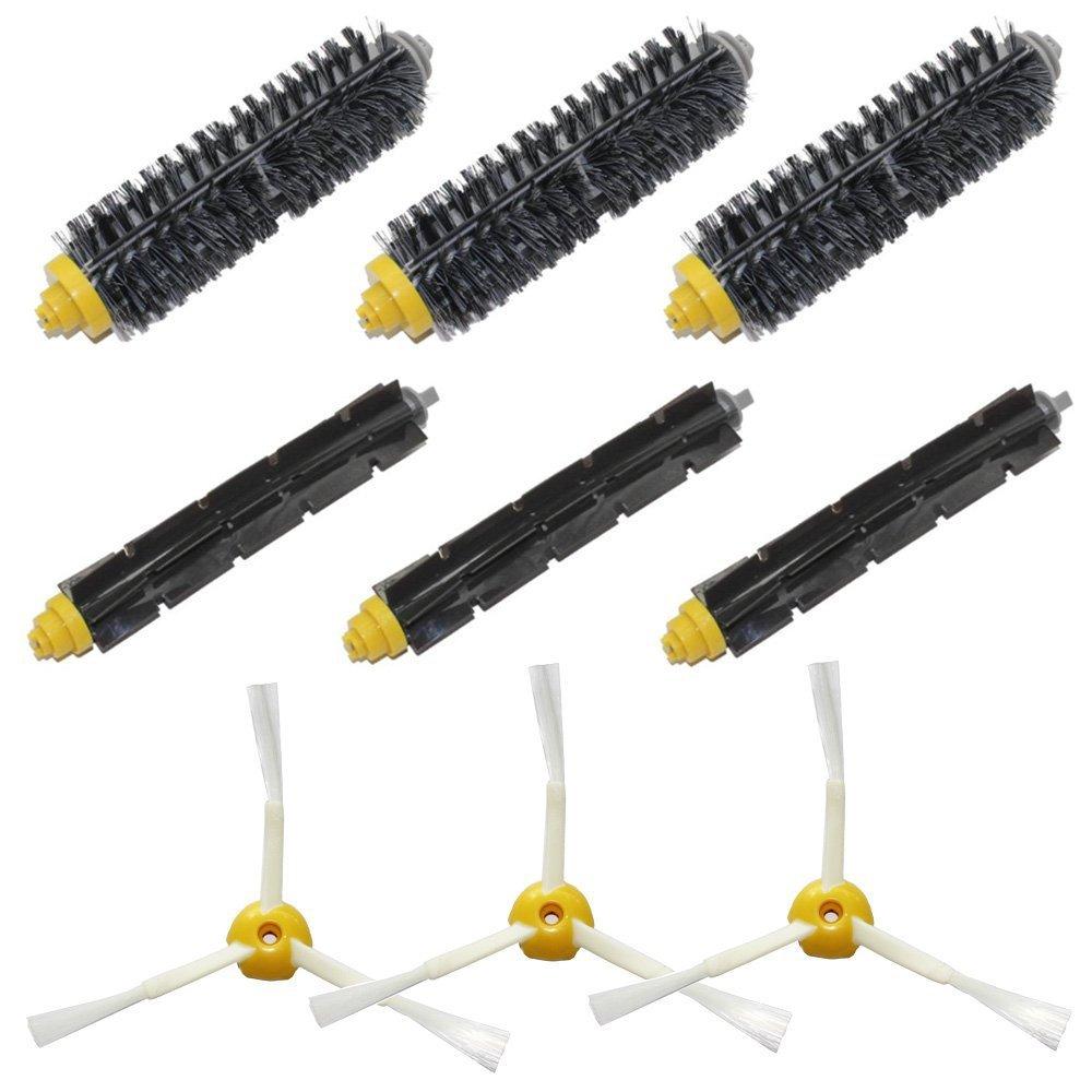 Brush Pack Kit for iRobot Roomba 500 600 700 Series (585 595 620 630 650 660 680 760 770 780 790) Vacuum Cleaning Robots(China (Mainland))