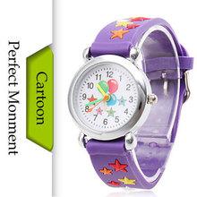 New 2016 Children Cartoon Watches Balloon Pattern Waterproof Children Silicone Quartz Watch Casual Kids Child Wrist Wristwatches