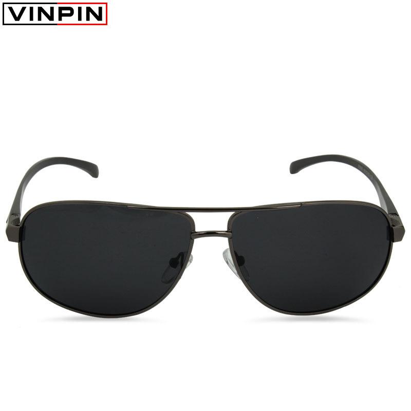 2015 Sunglasses Men Polarized Rectangle Shape Eyeglass Lenses Vintage UV400 Proof Eyewear Polarizing Glasses Oculos Male
