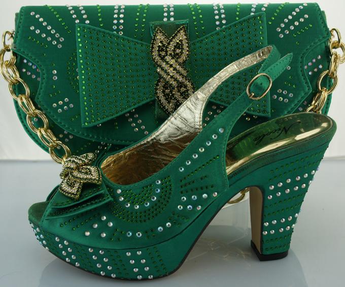 Elegant Woman High Heels Women Pumps,Womens Shoes High Heels Wedding Shoes.ME3306 green color size 38-42<br><br>Aliexpress