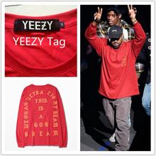 T-shirt Men 1: 1 Top Season 3 Pablo Kanye West Famous Brand Yeezy Yeezus Short-sleeved Shirt Bape