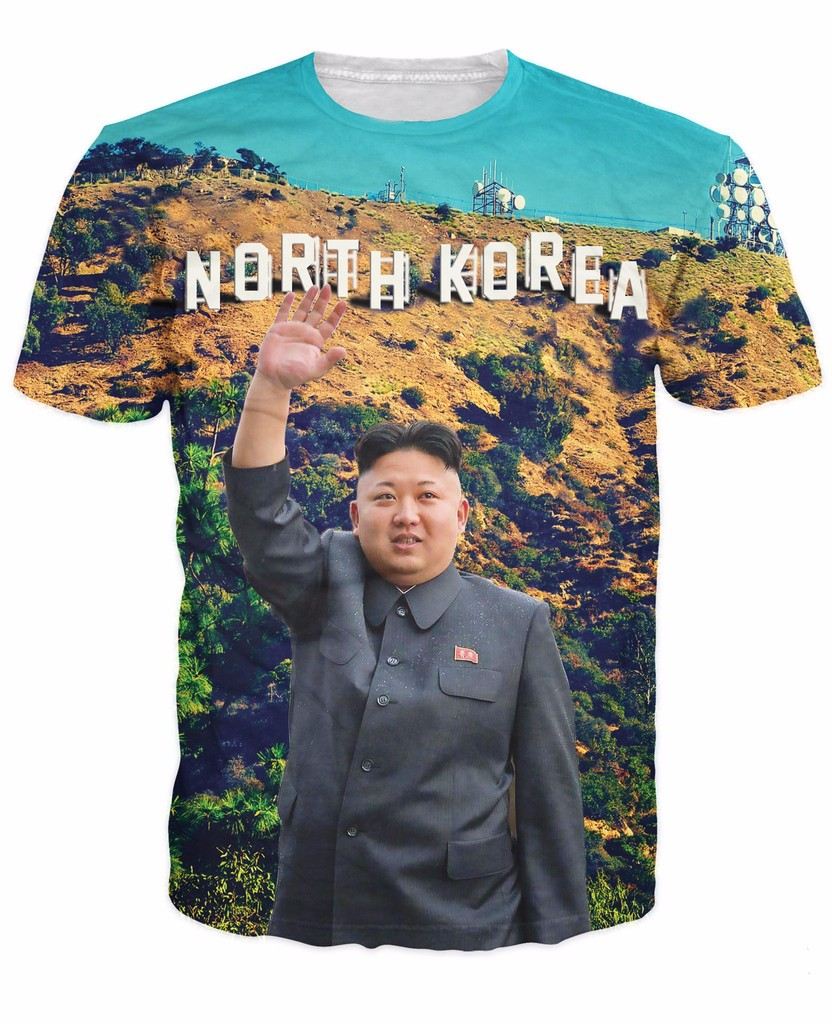 North korean clothing store