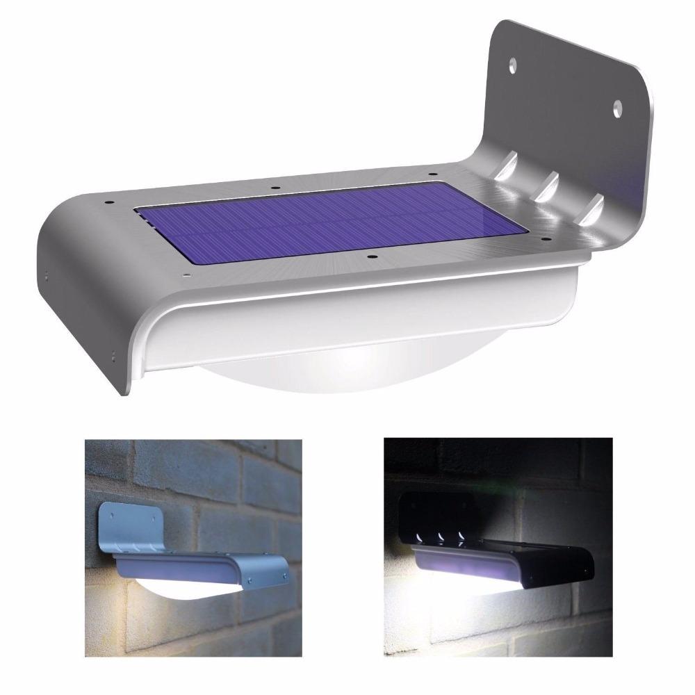 16 LED Solar Outdoor Light Panel Powered Motion Sensor Led Lamp Energy Saving Wall Lamp Solar Security Lights for Outdoor Garden(China (Mainland))
